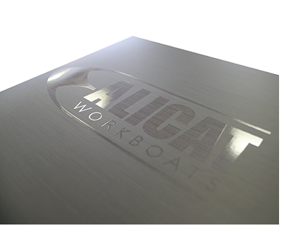 Example of Gloss Spot UV onto a Matt Laminated Cover printing effects