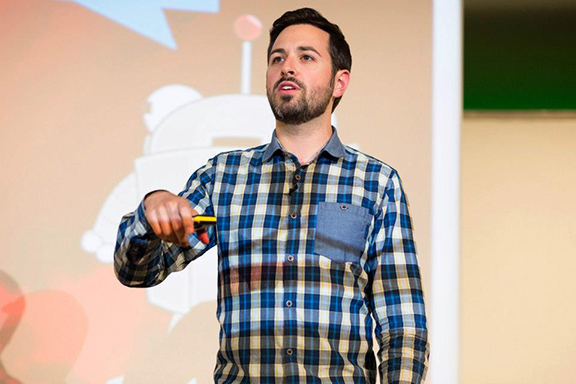 Rand Fishkin, CEO of SEOmoz