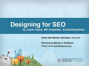 Designing for SEO