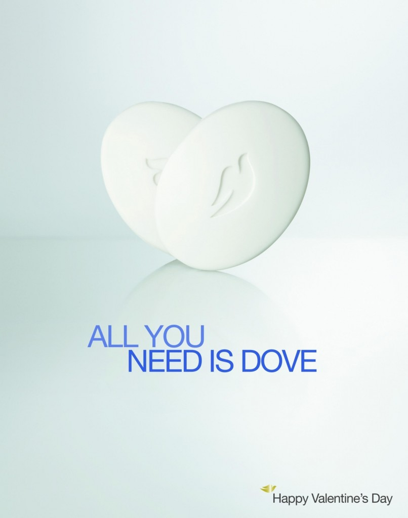 "Dove - ""All you need is Dove."""